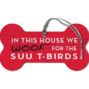 Woof for SUU Dog Bone Ornament
